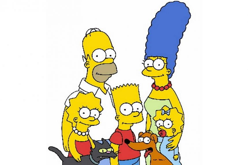 America's favourite dysfunctional family and longest-running sitcom, The Simpsons. -- FILE PHOTO: FOX