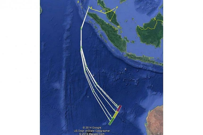 Maps released show possible flight paths taken by MH370.Malaysia's Acting Minister for Transport Hishammuddin Hussein on Thursday released a press statement releasing information on the search for missing Malaysia Airlines flight MH370.&n