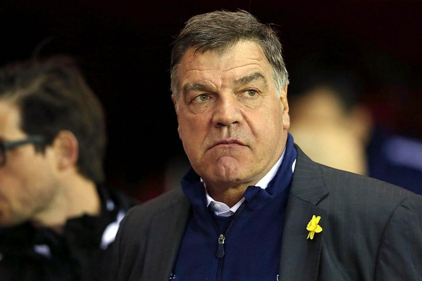 West Ham's's English manager Sam Allardyce attends the English Premier League football match between Sunderland and West Ham United at The Stadium of Light in Sunderland, north-east England, on March 31, 2014. West Ham United manager Sam Allardy