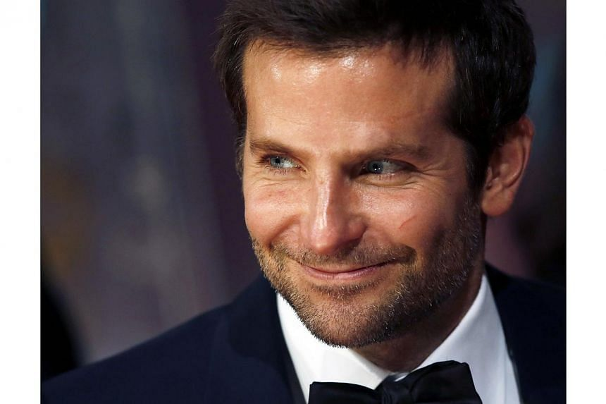 Bradley Cooper arrives at the British Academy of Film and Arts (BAFTA) awards ceremony at the Royal Opera House in London on Feb 16, 2014. -- FILE PHOTO: REUTERS