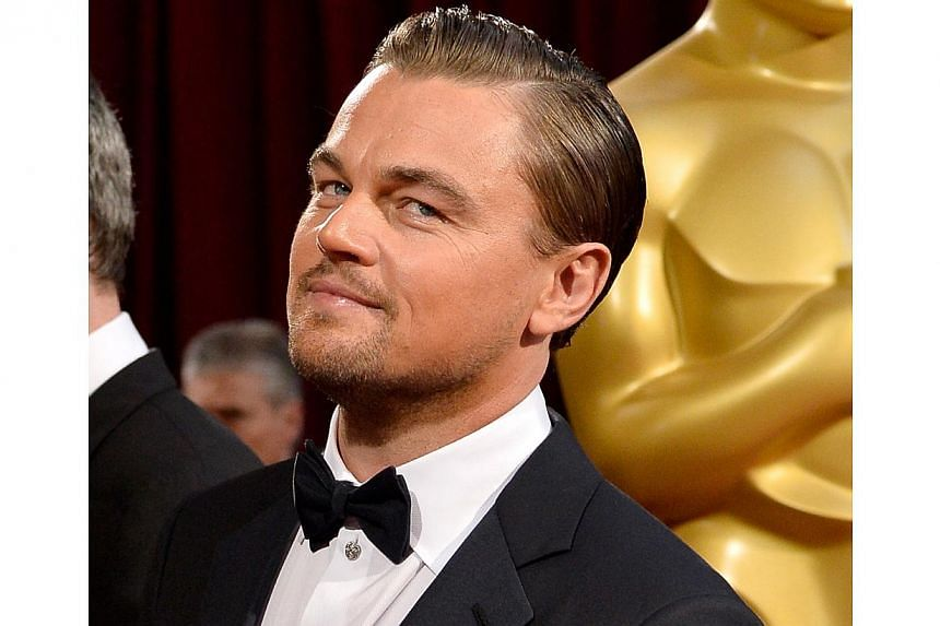 Actor Leonardo DiCaprio attends the Oscars held at Hollywood & Highland Center on March 2, 2014 in Hollywood, California. -- FILE PHOTO: AFP