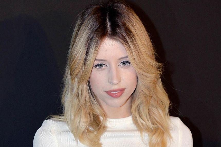 British TV host and model Peaches Geldof prior to the start of the Etam 2014/2015 Autumn/Winter collection fashion show in Paris on Feb 25, 2014. Geldof died of a heroin overdose, the same cause of death as her mother Paul Yates in 2000, Britain's Ti