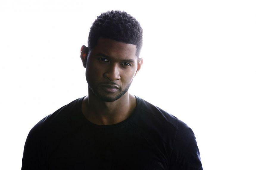 American singer Usher. -- PHOTO: SONY MUSIC