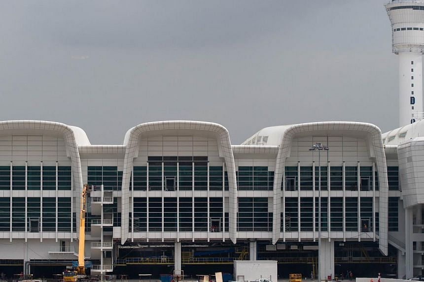 It costs RM4 billion (S$1.53 billion) and is visioned to become Malaysia's International Airport Hub that allows seamless connectivity for both local and international low-cost as well as full-service carriers. -- FILE PHOTO: AFP