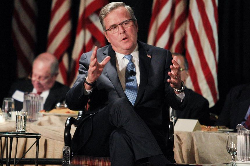 Mr Jeb Bush, who left the governorship of Florida with a net worth of US$1.3 million, is now making more than US$1 million a year just for giving advice to Barclays bank. And he has lots of gigs like that.