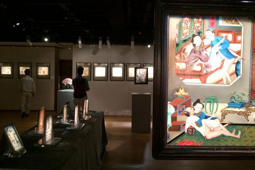 Since opening on April 16, the exhibition has attracted over 4,000 visitors, says Sotheby's Asia, which organised the exhibition. It is the first ancient Chinese erotic art exhibition in Greater China. --PHOTO:SOTHEBY'S HONG KONG