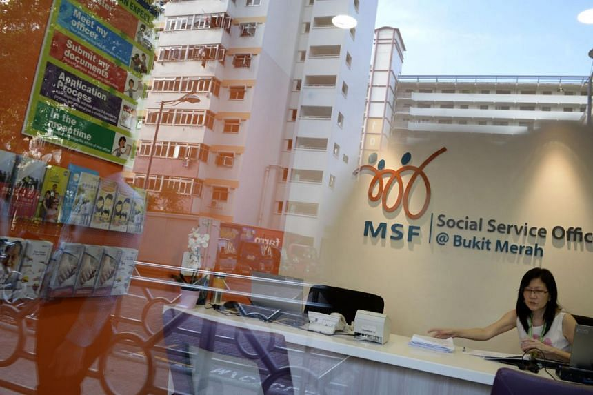 A social service office was launched in Bukit Merah on Friday afternoon, bringing the Ministry of Social and Family Development closer to its target of setting up 20 such offices in HDB towns across the island.-- ST PHOTO: MARK CHEONG