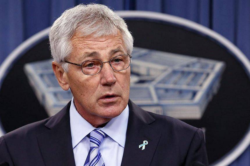 Nato's European members need to increase their defence spending in light of Russia's action in Ukraine, US Defence Secretary Chuck Hagel said in planned remarks released on Friday, May 2, 2014. -- PHOTO: REUTERS