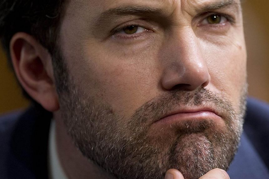"""Actor Ben Affleck was banned from playing blackjack at a Las Vegas casino because he was """"too good"""", a source close to the Oscar-winner said on Friday. -- FILE PHOTO: AFP"""