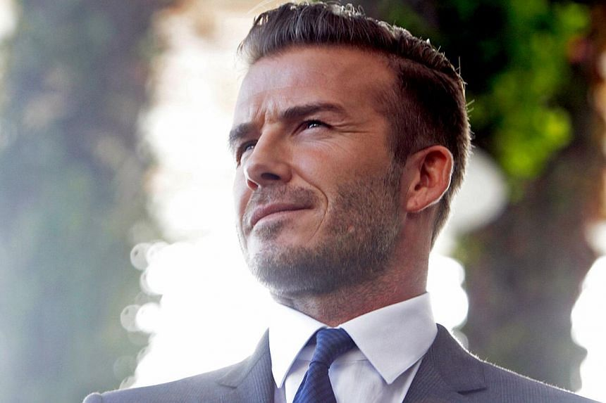 David Beckham's dream stadium project for his new Major League Soccer team in Miami took another step on Friday toward becoming reality. -- FILE PHOTO: AFP