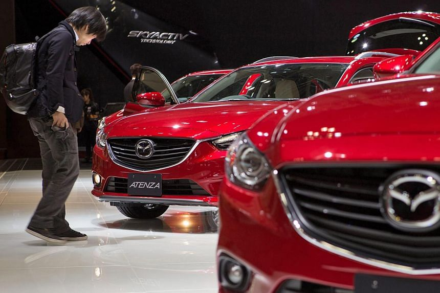 Motor shows in China, such as Auto China 2014 Beijing International Automotive Exhibition, are pulling ahead of older events in the region, such as the Tokyo Motor Show (above). -- PHOTO: EPA