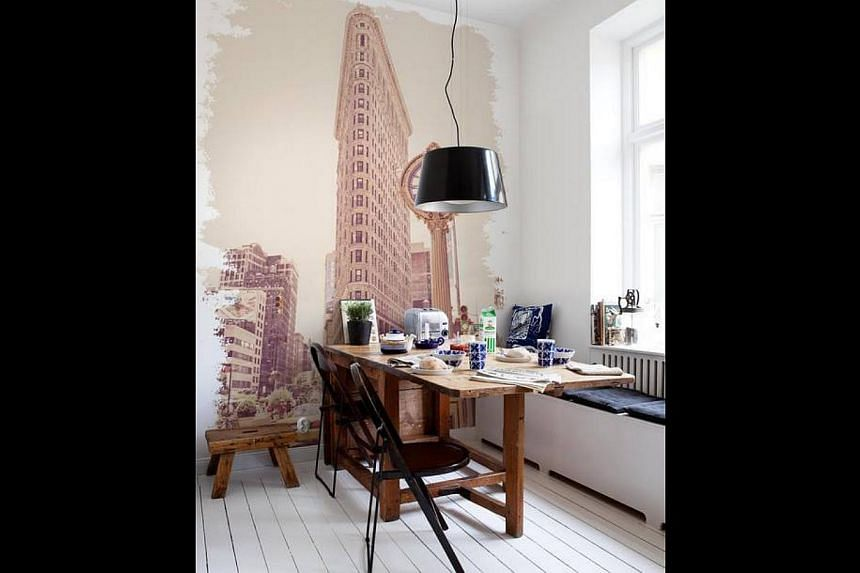 Eight-month-old Artful House sells colonial furniture (above), while the Slagbord Table (left) will be among the European and Scandinavian items up for auction when Swede Emelie Heden starts her business here.