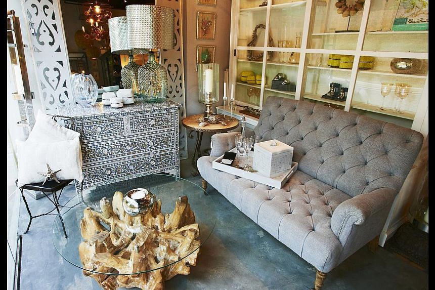Out with the rules: Modern Eclectic Living aims to help home owners combine furniture pieces from different styles for a unique feel.