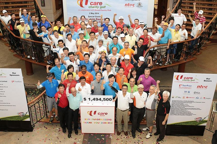 Close to $1.5 million was raised at the U Care-OCC Charity Golf event yesterday. Another fund-raiser will be held later this year.