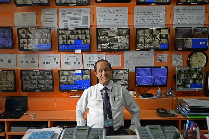 Mr Lim Chong Teng, who used to earn more than $8,000 a month as a superintendent of prisons, now earns $3,000 as a security firm's site operations manager. He believes it is fair that the pay changes with different work.