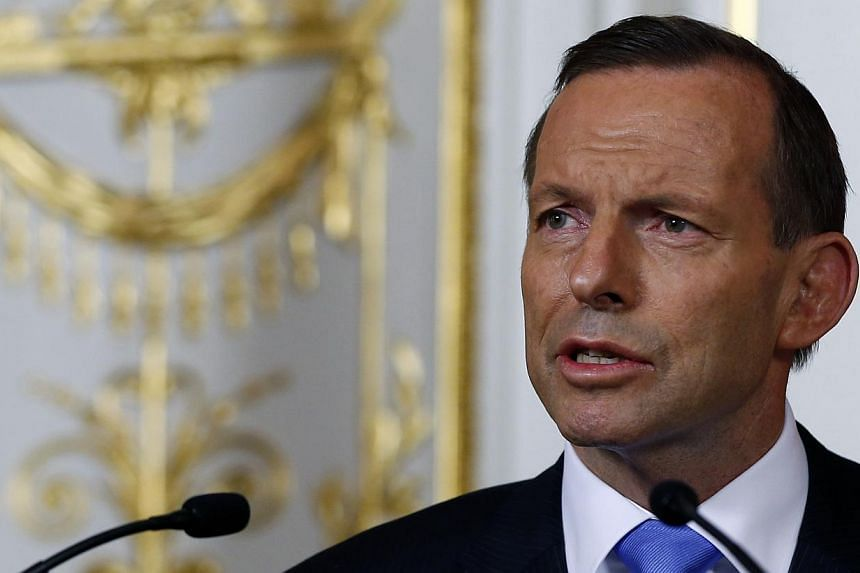 Australian Prime Minister Tony Abbott on Saturday, May 3, 2014, cancelled a trip to Indonesia amid reports that an asylum seeker turnback operation was underway that could renew tensions between the neighbours. -- FILE PHOTO: REUTERS