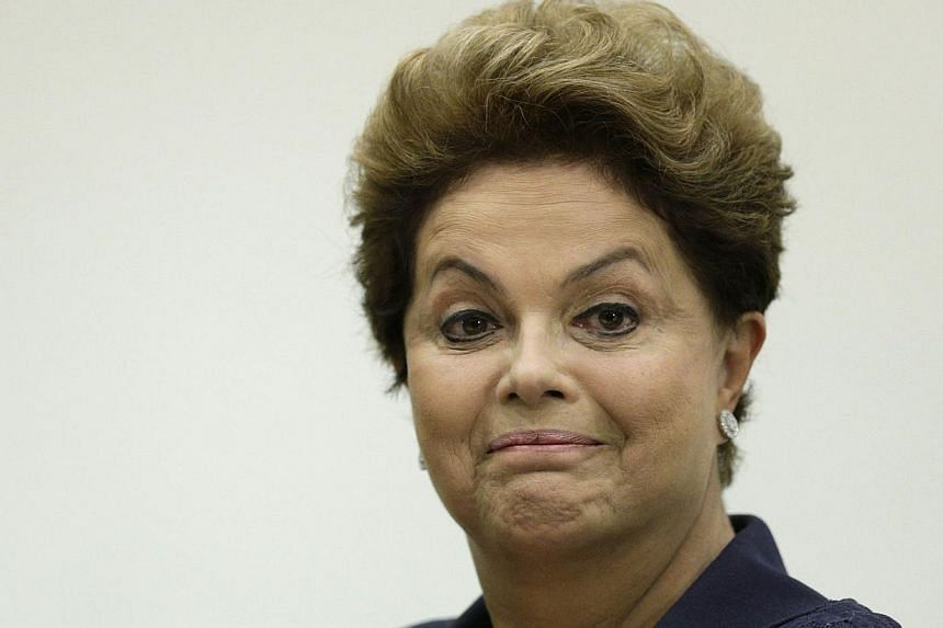 President Dilma Rousseff faces a tough re-election campaign after being chosen as the left-wing Worker's Party's candidate for the October presidential election. -- FILE PHOTO: REUTERS