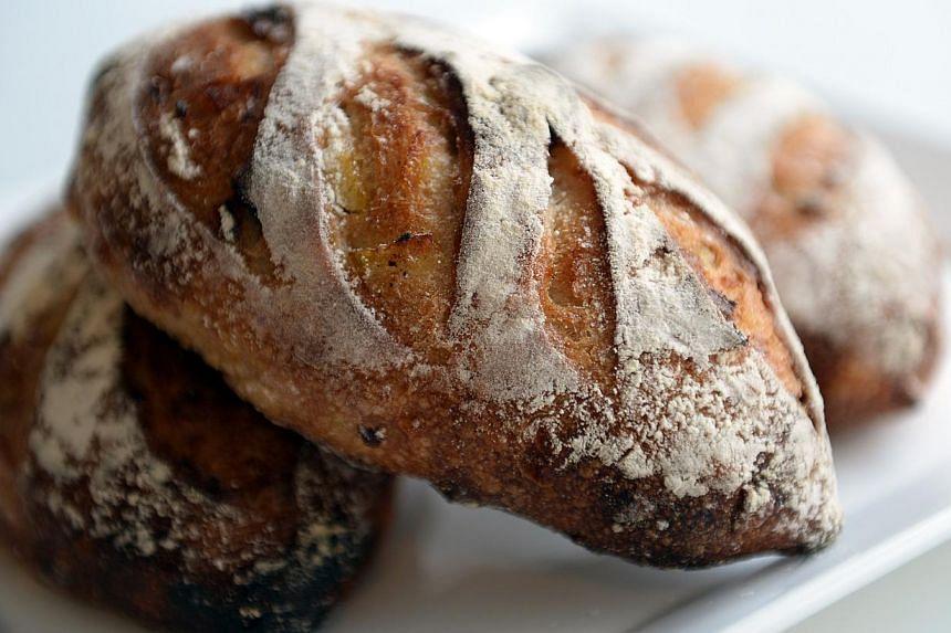 Campagne Yuzu bread. -- ST PHOTO: JOYCE FANG