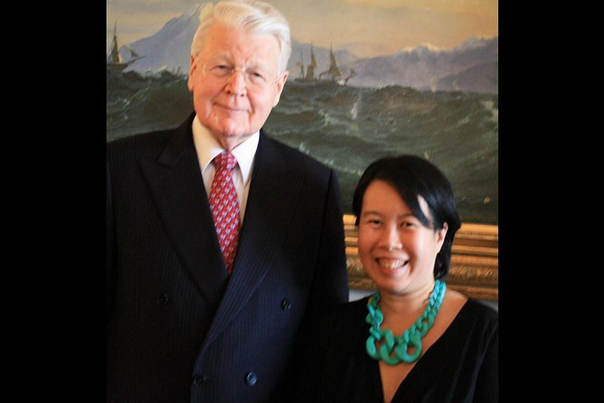 In Reykjavik for the first Iceland Writers Retreat last month, writer Clara Chow got to meet President Olafur Ragnar Grimsson (above), visit Bessastaoir, the historic farmturned- schoolturnedpresidential dwelling, and check out the home of Halldor La