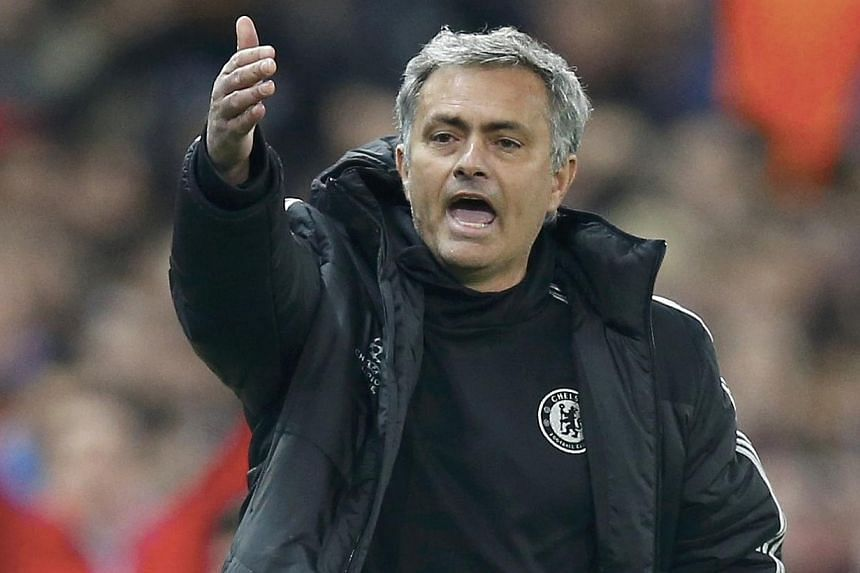 Jose Mourinho.  -- PHOTO: REUTERS