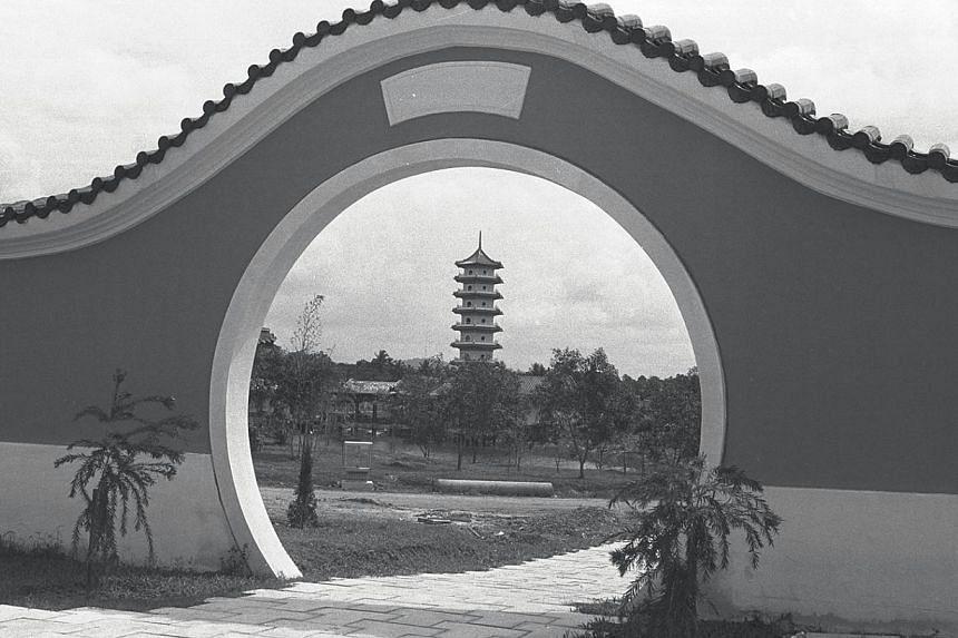 1973. Chinese Garden. -- ST FILE PHOTO: MAK KIAN SENG
