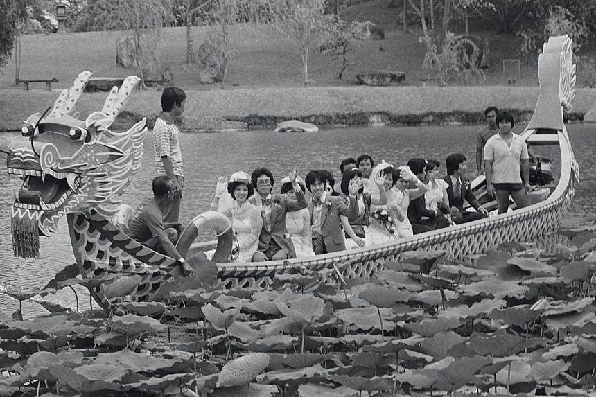 1981. Chinese Garden. -- ST FILE PHOTO: ANTHONY WYE