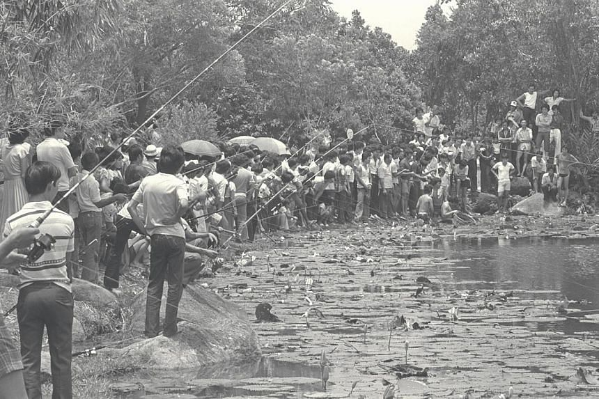 1982. Chinese Garden. -- ST FILE PHOTO: MICHAEL LIEW