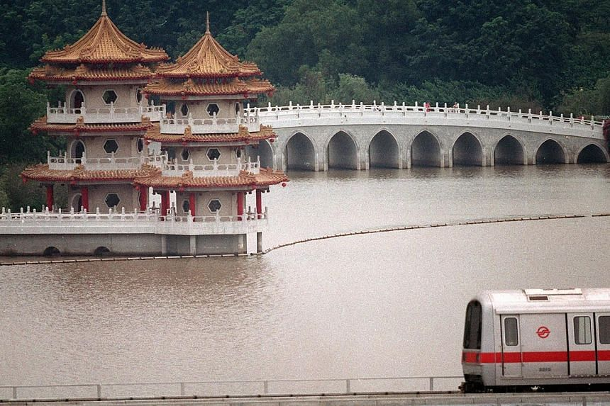 1988. Chinese Garden. -- ST FILE PHOTO: MICHAEL LIEW