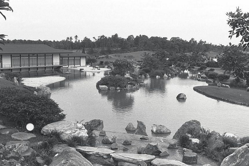 1973. Japanese Garden. -- ST FILE PHOTO: KOK AH CHONG