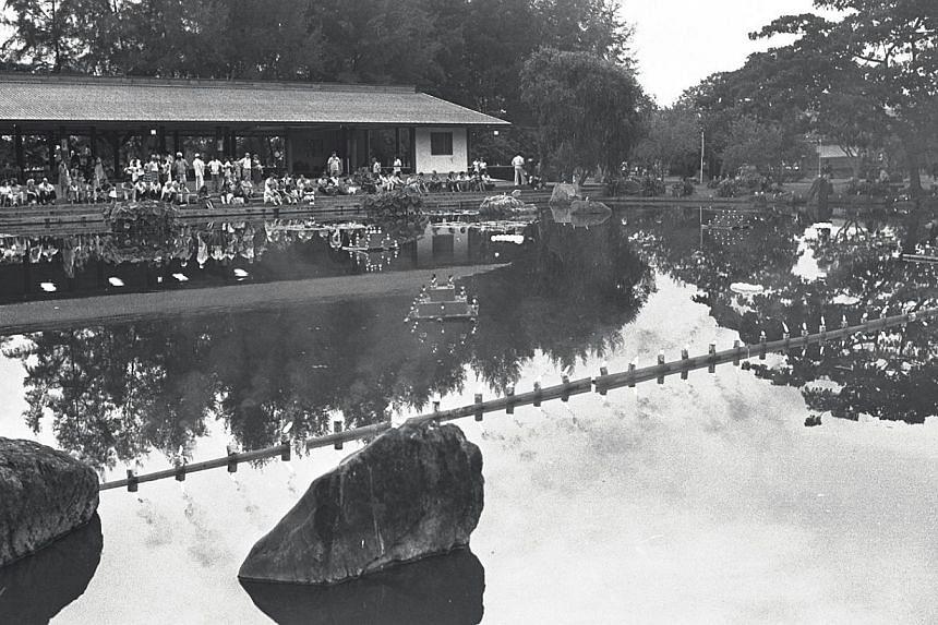 1981. Japanese Garden. -- ST FILE PHOTO: LIM SENG TIONG