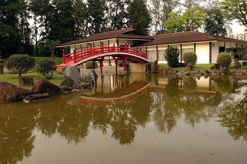 2006. Japanese Garden. -- ST FILE PHOTO: SHAHRIYA YAHAYA