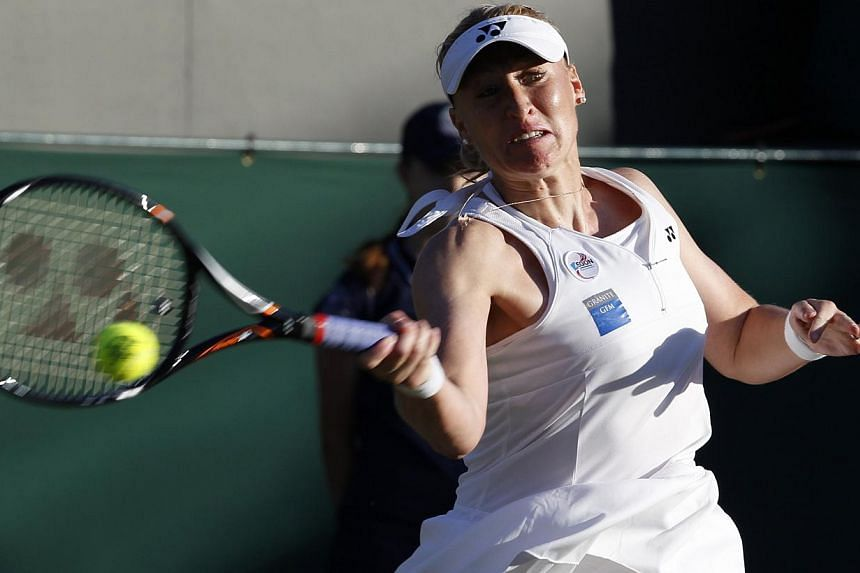 Former British women's number one Elena Baltacha has died at the age of 30 from liver cancer, the Lawn Tennis Association (LTA) announced on Sunday. -- FILE PHOTO: REUTERS