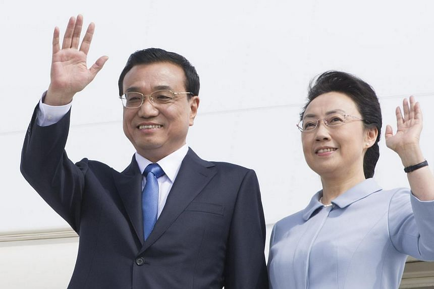 China's state media have published for the first time the photograph and resume of Premier Li Keqiang's wife, Madam Cheng Hong.-- PHOTO: XINHUA