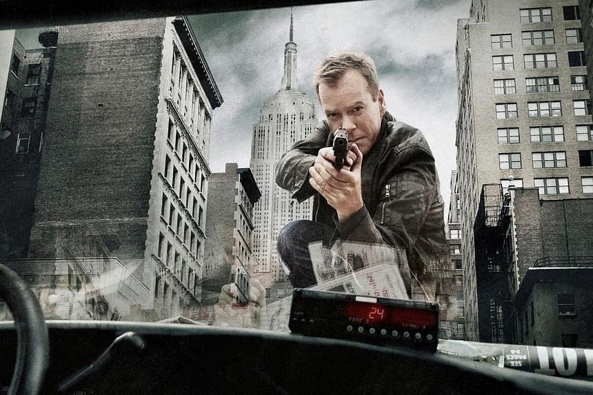 Kiefer Sutherland will reprise his role as Jack Bauer in the revival of TV show 24, which returns in a limited-run series. -- FILE PHOTO: MIO TV