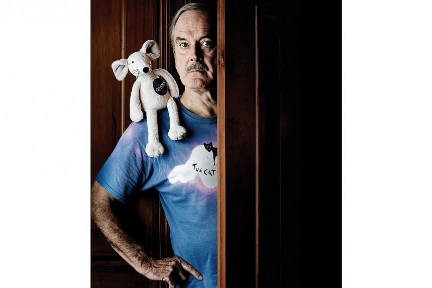 British comedian John Cleese. -- FILE PHOTO: LAMC PRODUCTIONS