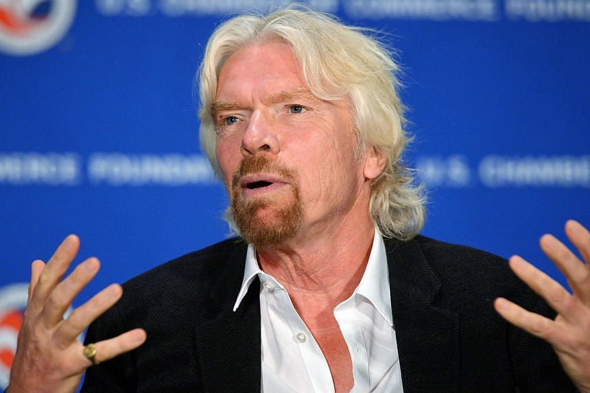 Celebrities including Virgin group founder Richard Branson vow to boycott a hotel chain linked to Brunei's sultan after he introduced a controversial Islamic penal code in his country. -- FILE PHOTO: AFP