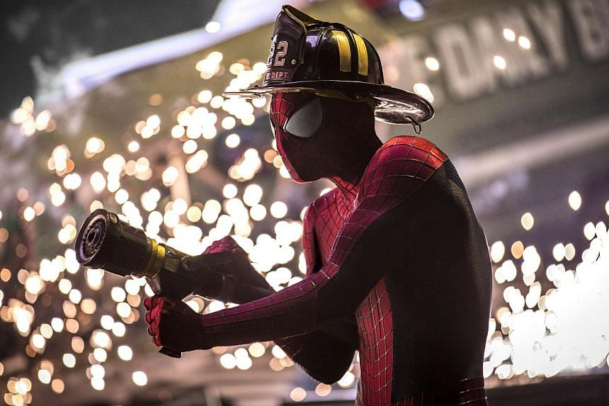Movie Still: The Amazing Spider-Man 2, starring Andrew Garfield. -- FILE PHOTO: SONY PICTURES
