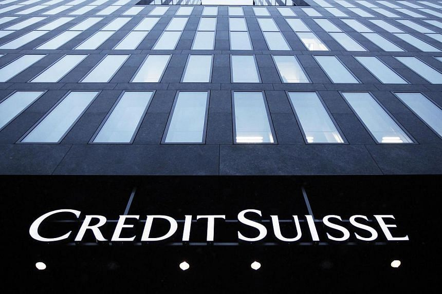 A logo of Swiss bank Credit Suisse is seen on a building in Zurich on Jan 15, 2013. Credit Suisse Group AG is in talks with the US Justice Department to pay as much as US$1.6 billion (S$2 billion) to resolve an investigation into the bank's role in h