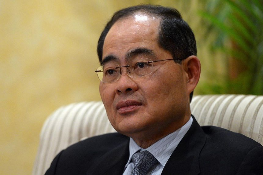 Minister for Trade and Industry Lim Hng Kiang at a media briefing at Taj Mahal Hotel in New Delhi, India on Dec 19, 2012. Singapore cannot be a First World economy with Third World costs, said Trade and Industry Minister Lim Hng Kiang on Monday at a
