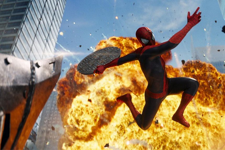Cinema still: The Amazing Spider-man 2. -- FILE PHOTO:SONY PICTURES