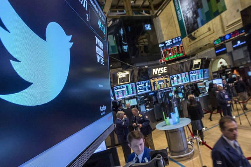 Twitter shares plunged to new lows on Tuesday, under pressure after the expiration of the so-called lockup period, which banned sales by company insiders after its public offering. -- FILE PHOTO: REUTERS