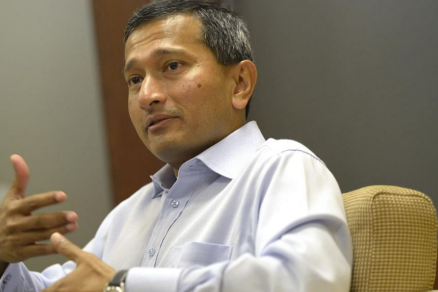 Minister for the Environment and Water Resources Vivian Balakrishnan (above) will attend the 18th Major Economies Forum on Energy and Climate in Mexico on Thursday and Friday. -- ST FILE PHOTO: DESMOND LIM