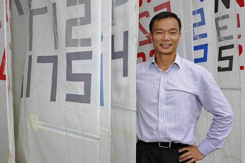 Singapore Sailing president Dr Ben Tan announced on Wednesday afternoon that he will be putting himself up for consideration for the Nominated Member of Parliament (NMP) position. -- ST FILE PHOTO:RAJ NADARAJAN