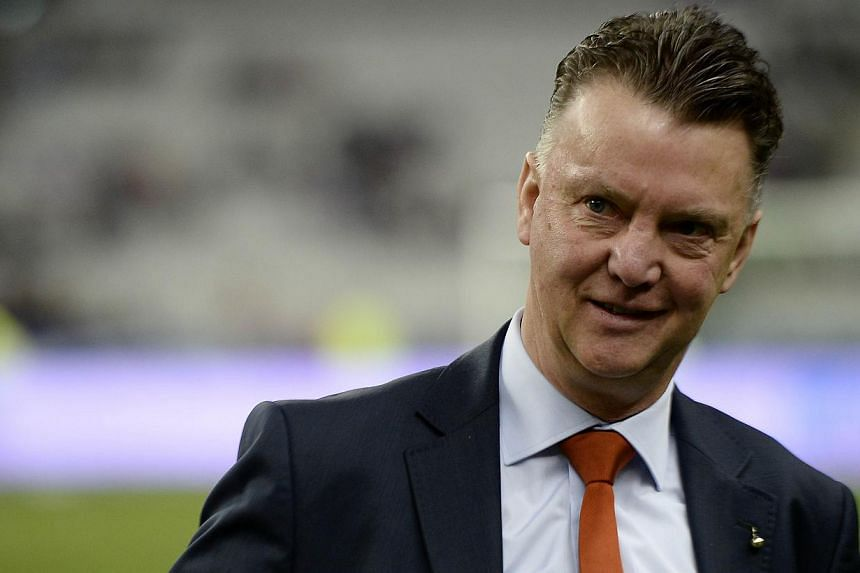 Netherlands national football coach Louis van Gaal has reportedly agreed a deal to be the new manager of Manchester United, but a club spokesperson insisted no announcement will be made this week. -- FILE PHOTO: AFP