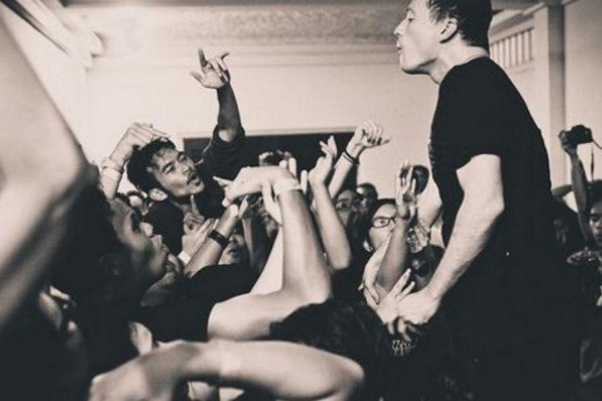 American hardcore band Touche Amore. -- PHOTO: COURTESY OF RIDWAN ZULKIFLI