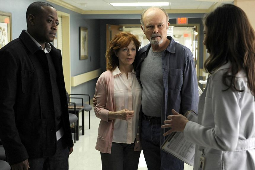 Set in a small town in America, Resurrection stars (from left) Omar Epps, Frances Fisher, Kurtwood Smith and Devin Kelley. -- PHOTO: LIFETIME