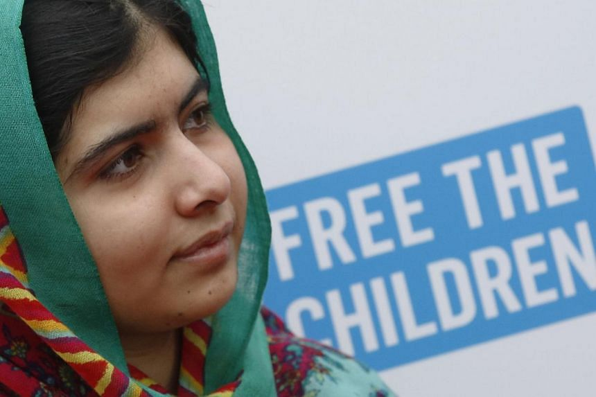 Malala Yousafzai arrives for the We Day UK event at Wembley Arena in London on March 7, 2014. -- FILE PHOTO: REUTERS