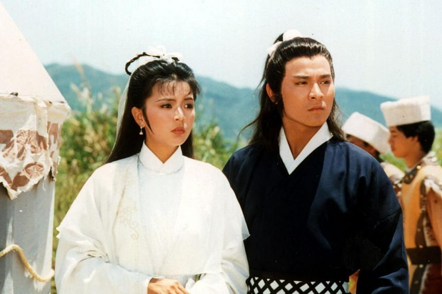 Hong Kong TVB version of The Return Of The Condor Heroes starring Idy Chan and Andy Lau. -- HANDOUT PHOTO