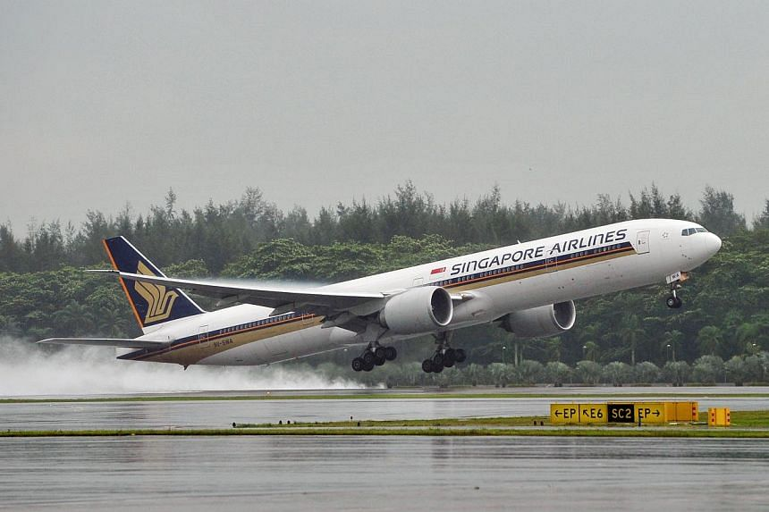 Singapore Airlines' Indian joint venture is looking to start flights from Sept 1, according to its application to the sector regulator for permission to operate. -- ST FILE PHOTO: ALPHONSUS CHERN