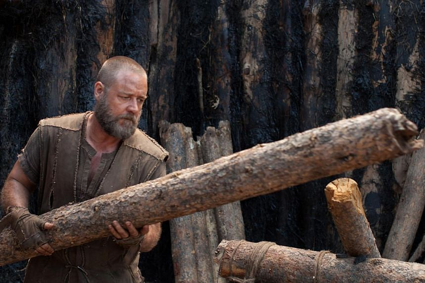 China has refused to approve the release of the biblical epic Noah starring Russell Crowe, which has already been banned in a string of Muslim countries for religious reasons, industry sources said. -- FILE PHOTO: UIP